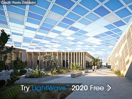 Try LightWave 2020
