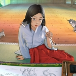 Naoya Kurisu - Illustrator In Heian Era