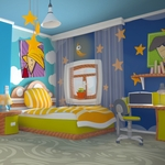 Alper Ocak - Cartoon Teenage Room
