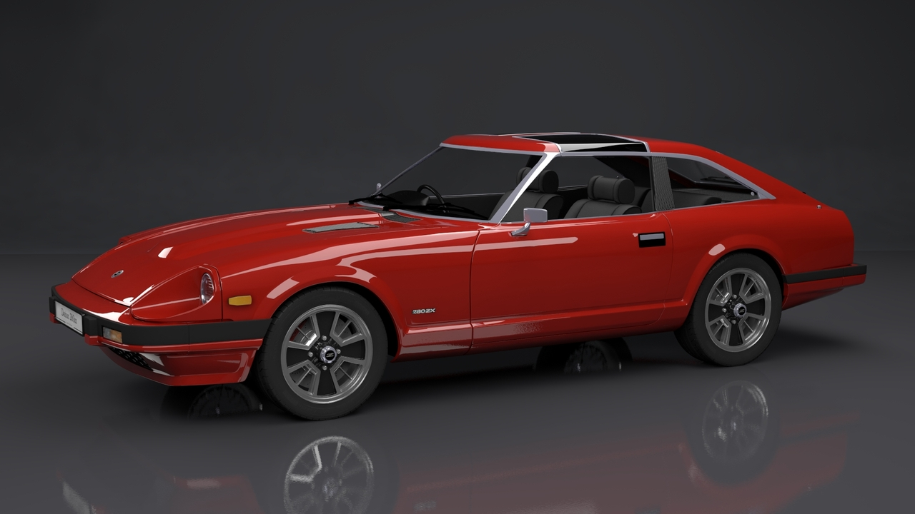 Tony Coleman Datsun 280zx Created With Lightwave 3d