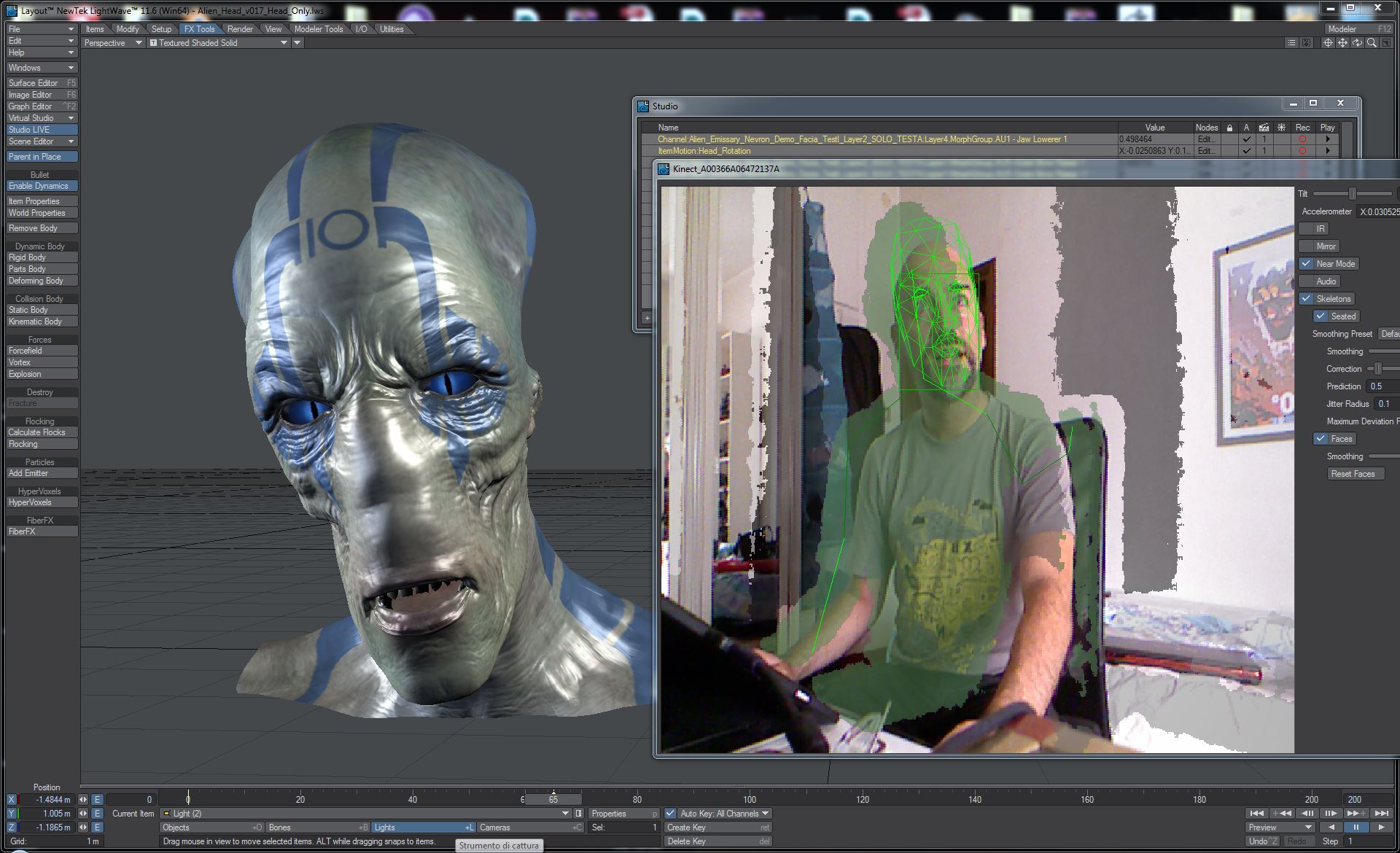 Lightwave nevronmotion transforms mocap in lightwave 116 - Programme 3d ...