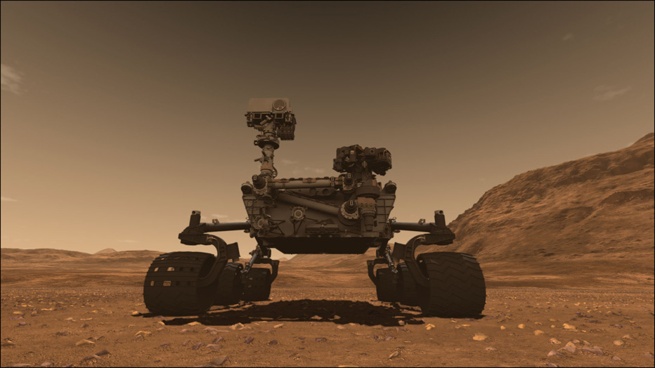 LightWave - Mission to Mars with NASAs Curiosity