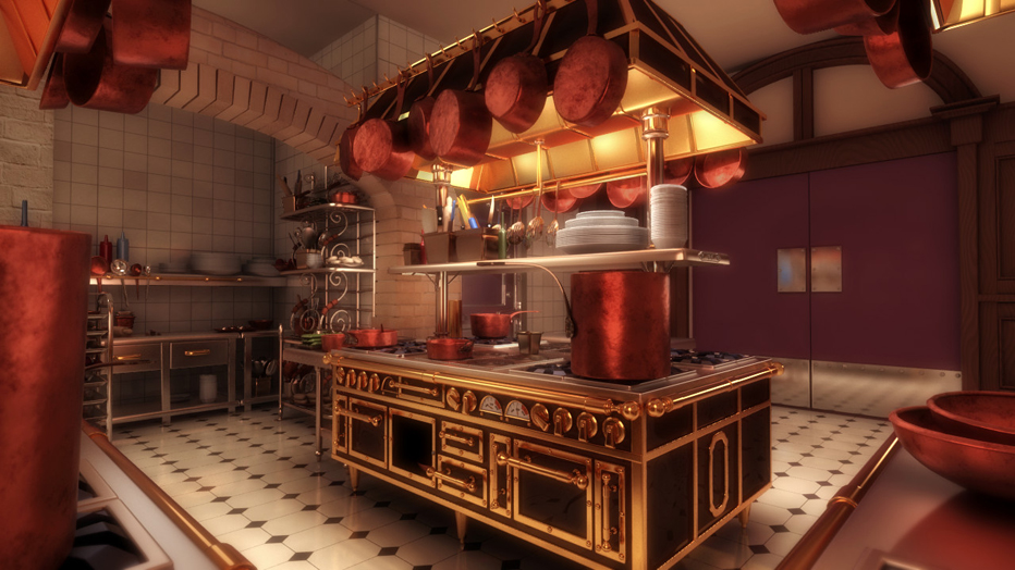 Ratatouille Kitchen Decor