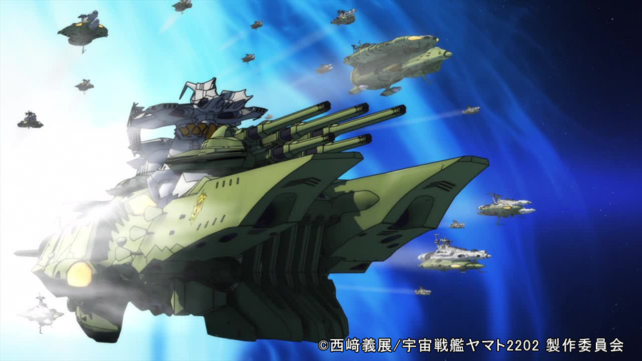 Lightwave space battleship yamato 2202 warriors of love - Yamato render ...